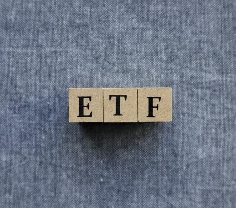 ETFと書かれたオブジェクト